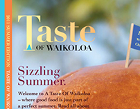 """Taste of Waikoloa"" Magazine"