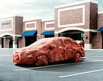 Auto de carne - Meat car