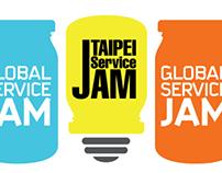 2013 Taipe service jam Logo 全球最大服務設計與創新工作坊