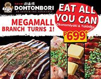 Eat All You Can: Okonomiyaki&Yakiniku Promo