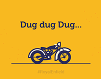 Illustration for Royal Enfield