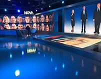 Presidential elections 2016 - Nova tv - studio