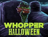 Burger King - Wooper Halloween
