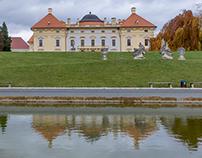 Austerlitz Slavkov  u Brna Castle
