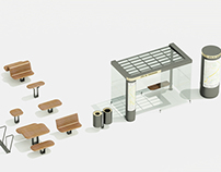 île, urban furniture