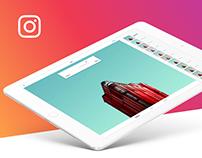 Instagram iPad Pro app