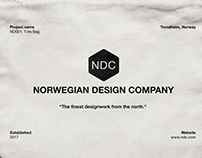 "Branding for ""The Norwegian Design Company"""
