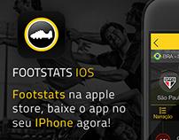 Footstats IOS App