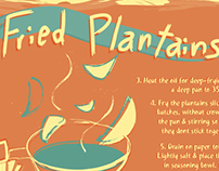 Illustration | Plantains Recipe