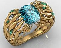 Ring made in Matrix (CAD)
