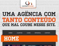 Conceito de Comunicação Content House