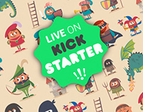 Of Knights and Ninjas on Kickstarter
