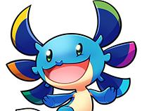 Axolotl mascot