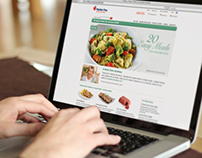 Meal Planning Section of Website