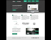 Green and Black webdesign