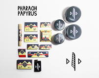 Pharaoh Papyrus rolling papers Packaging Design