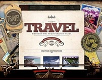 TravelBlog, WordPress Stylish Graphic Travel Holiday