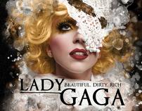 Lady Gaga CD Packaging