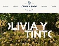 Olivia y Tinto Website