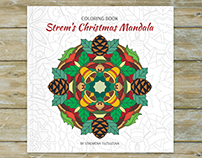 Strem's Christmas Mandala - Coloring Book