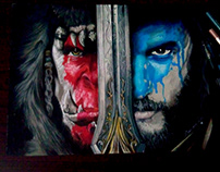 Drawing Warcraft Poster