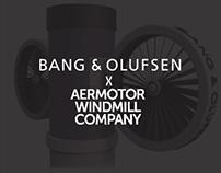Aermotor x Bang & Olufsen Wind Turbine