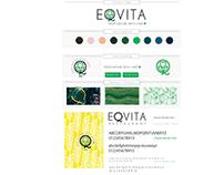 Charte graphique logo restaurant Eqvita Monaco