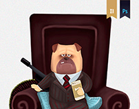 Dogs Mafia (playing cards)