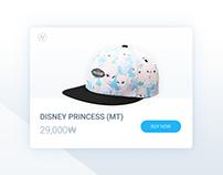 Weekly UI challenge #01 - Hats Shop (Single Item)
