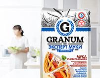 Packaging design for flour