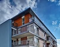 "Katowice - modern housing ""Dębowe Tarasy"""