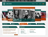BBC Archive Re-Design