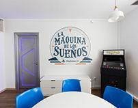 Logotipo La Máquina de los Sueños