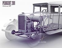 PEUGEOT 201 (3D)