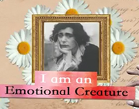 """Emotional Creature"" poem made visual."