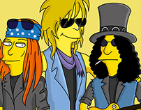 BANDS AND ARTISTS SIMPSONIZED