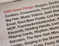 2008 Good Things