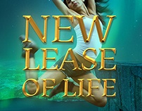 New Lease of Life - book cover design