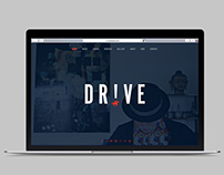 "Webdesign for Musician ""Dr!ve"""