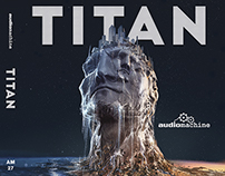 TITAN album cover layout