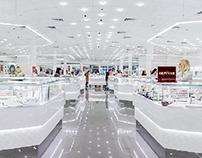 Jewellery shop interior