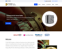 Website Design For Safety Locker Company