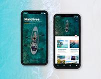 Travel App design- Figma