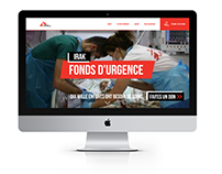 MSF - Refonte site web