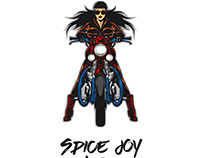 Spice Joy Ride | Logo design Concept