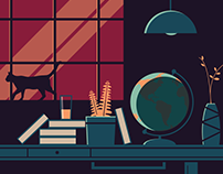 Quiet Desk