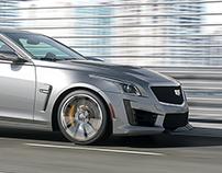 Cadillac CTS-V - Photorealistic 3D scene