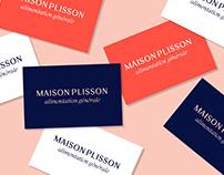 Maison Plisson - Nouvelle identité typographique