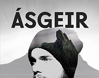 Poster work for Ásgeir concert