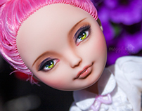 Ever After High Doll Repaint & Photoshoot